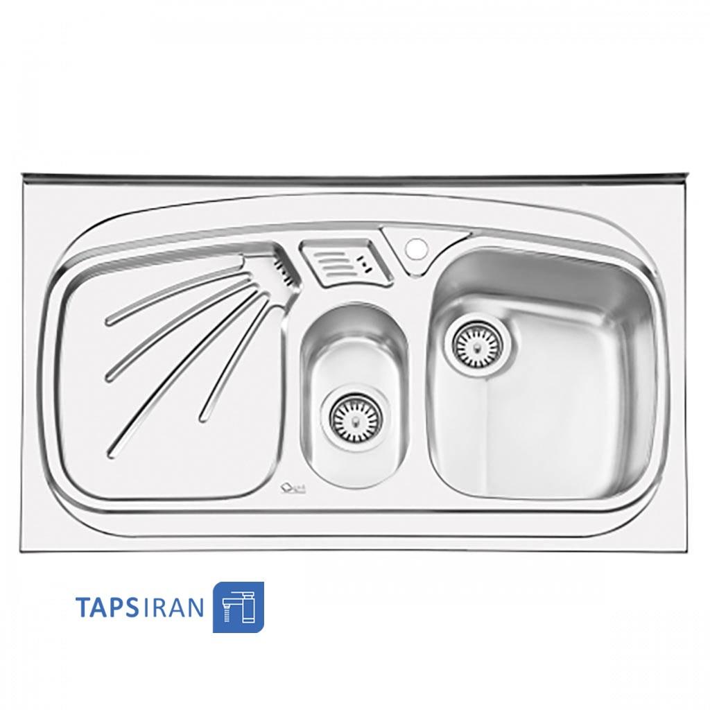 سینک ظرفشویی استیل البرز مدل 1012