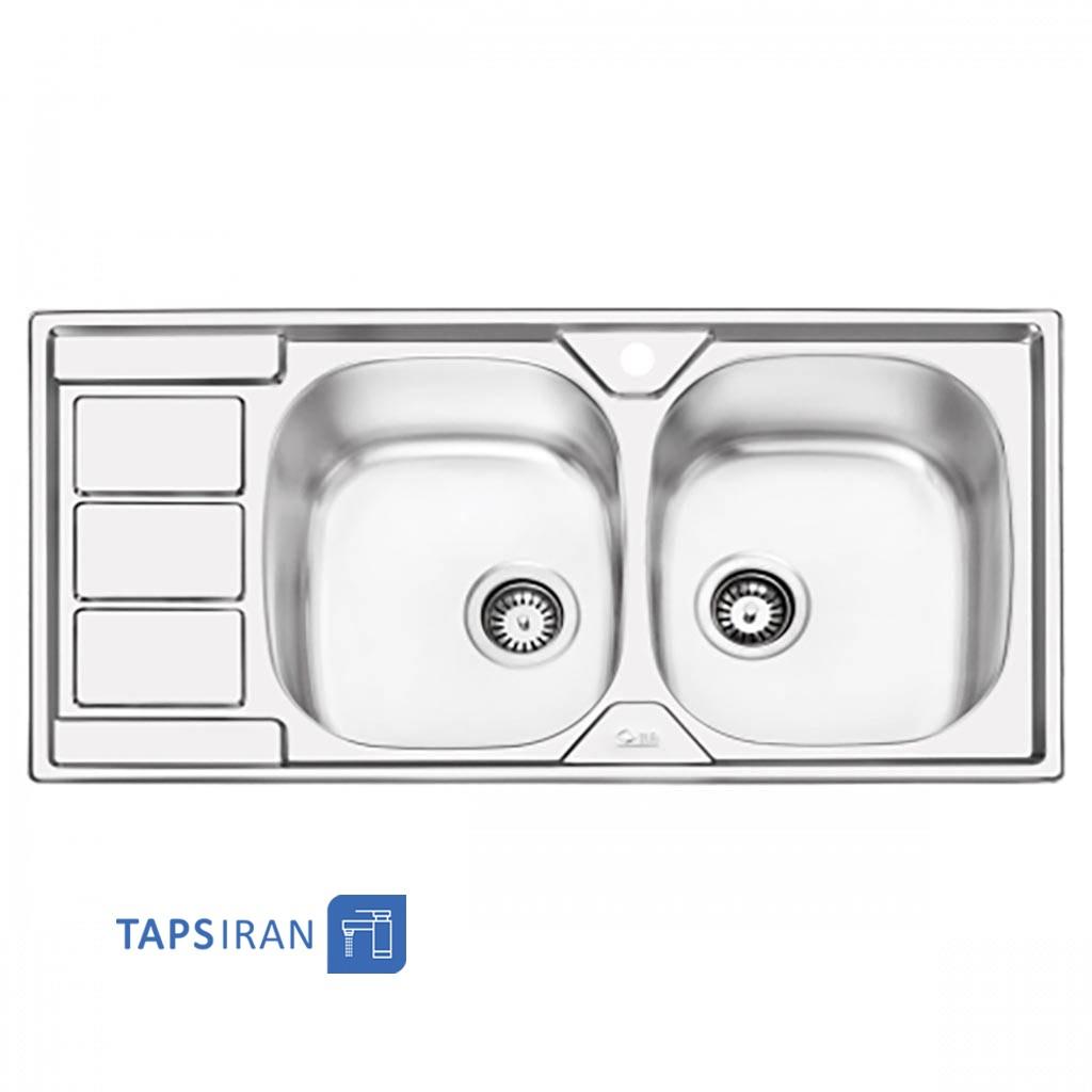 سینک ظرفشویی ایلیا استیل مدل 2051