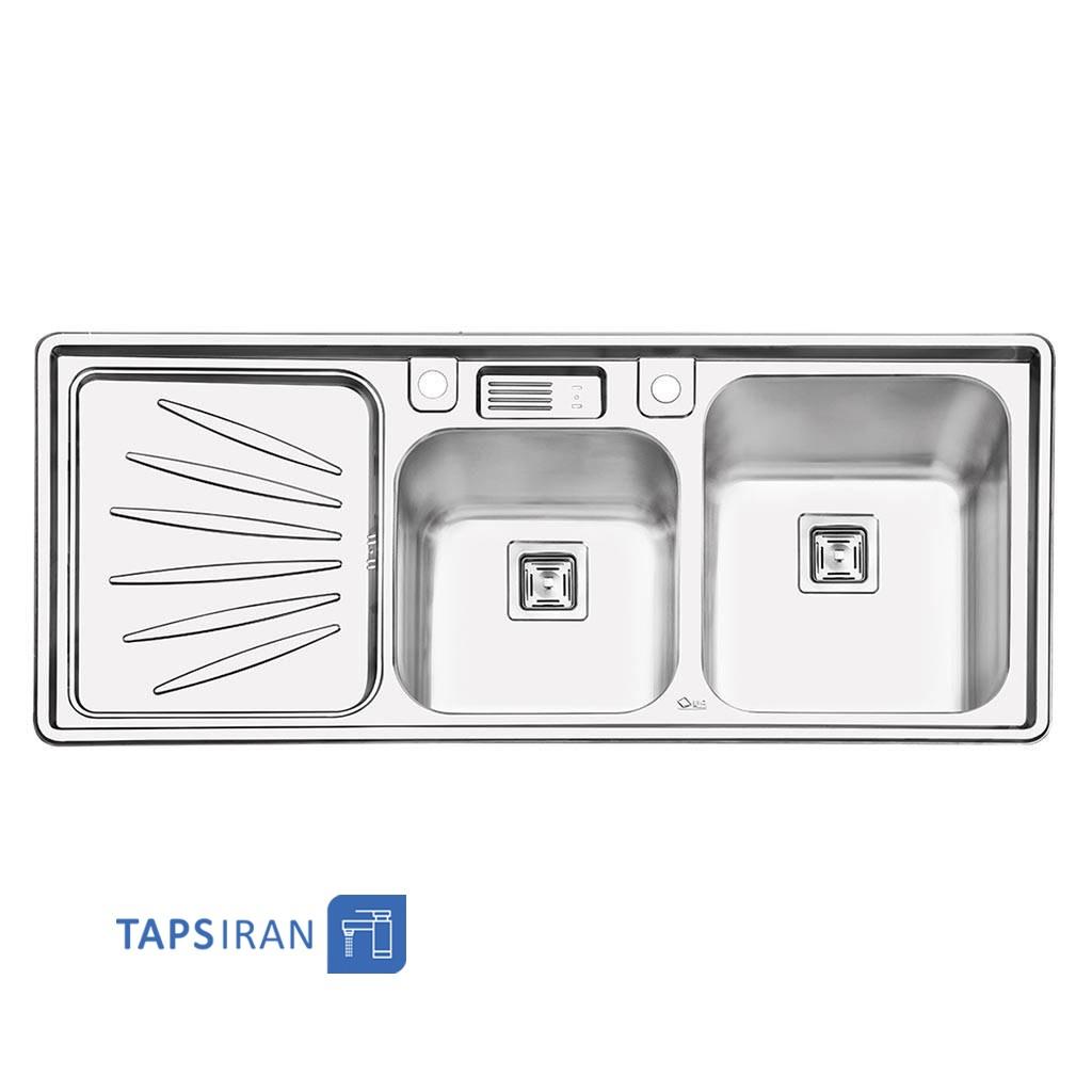 سینک ظرفشویی ایلیا استیل مدل 2061