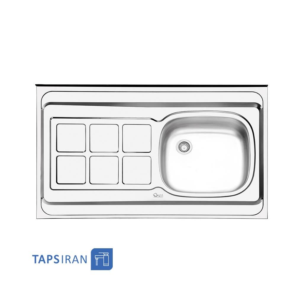 سینک ظرفشویی ایلیا استیل مدل 131