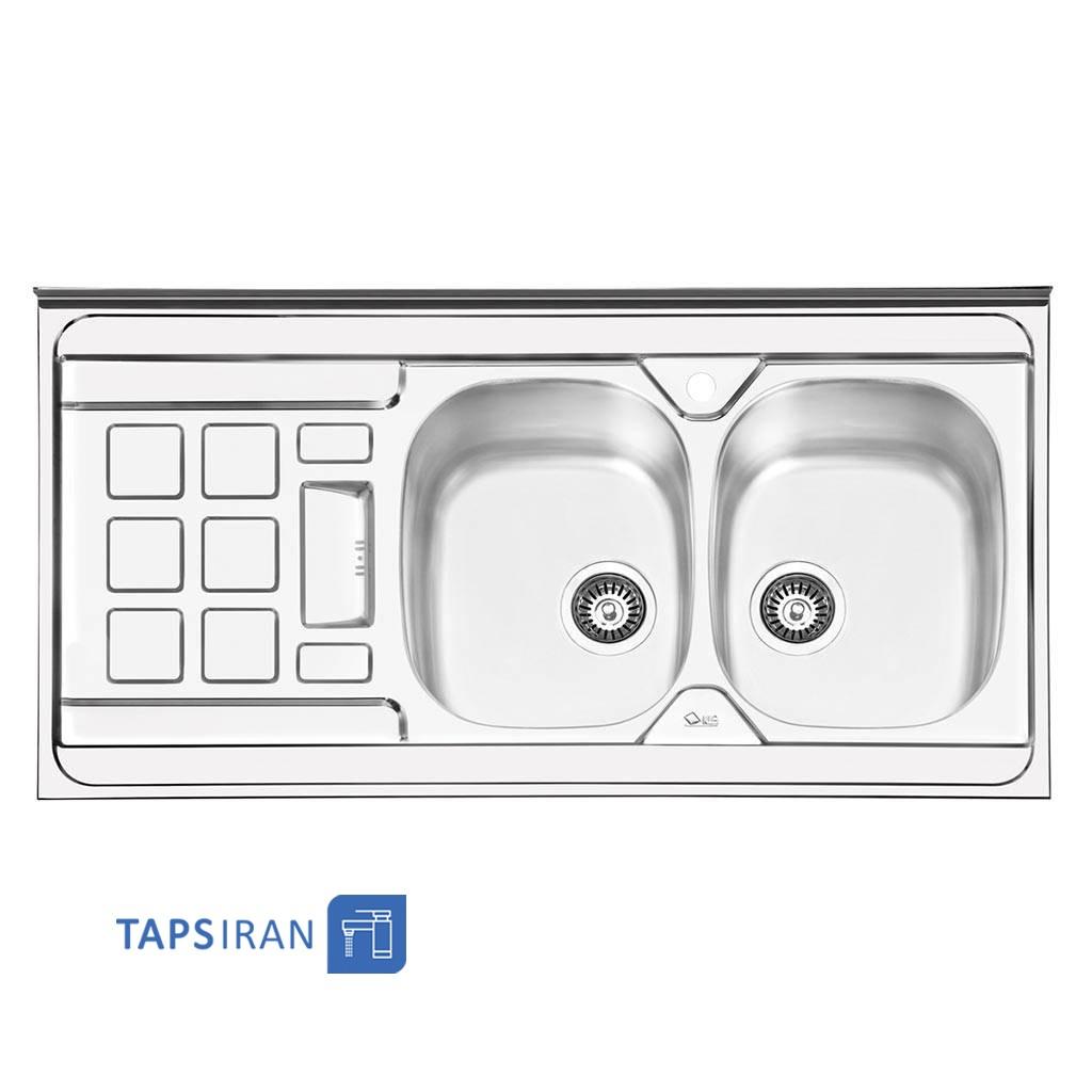 سینک ظرفشویی ایلیا استیل مدل 1021