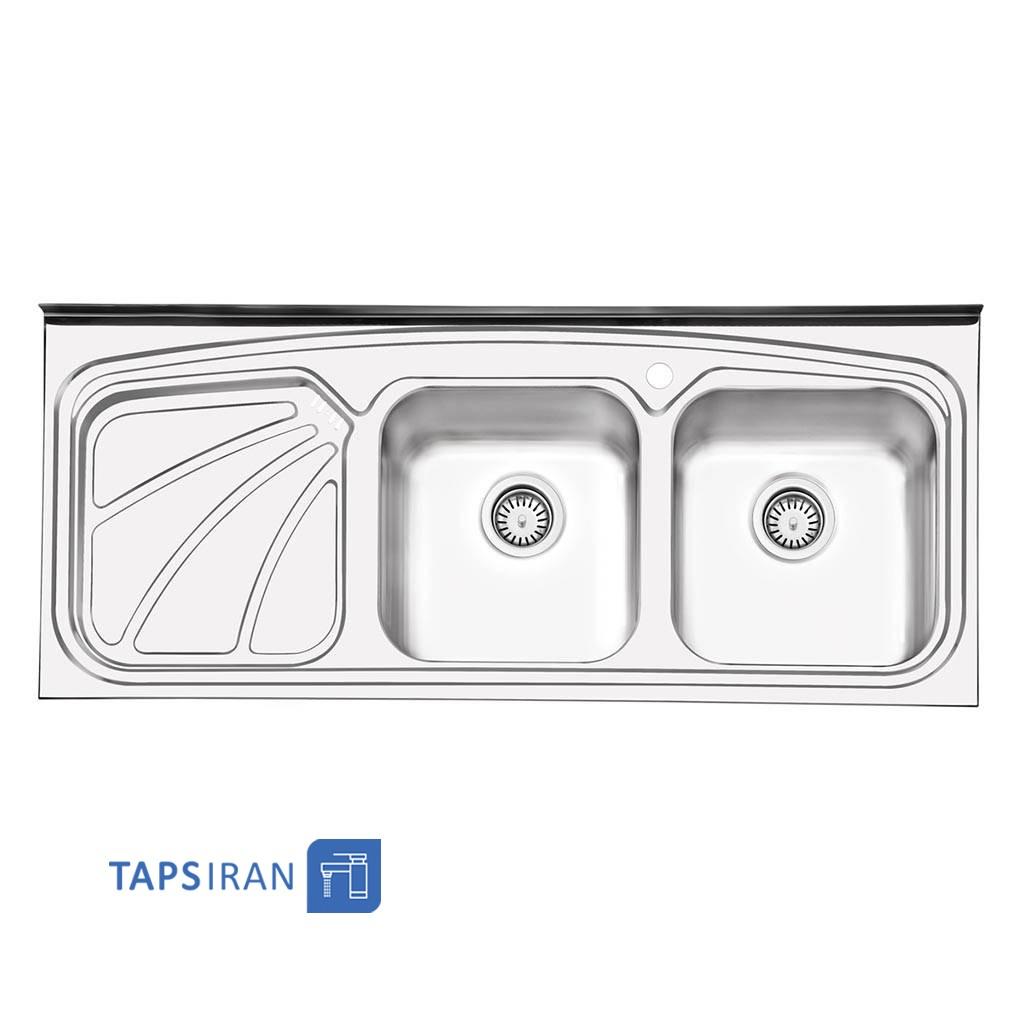 سینک ظرفشویی ایلیا استیل مدل 1023