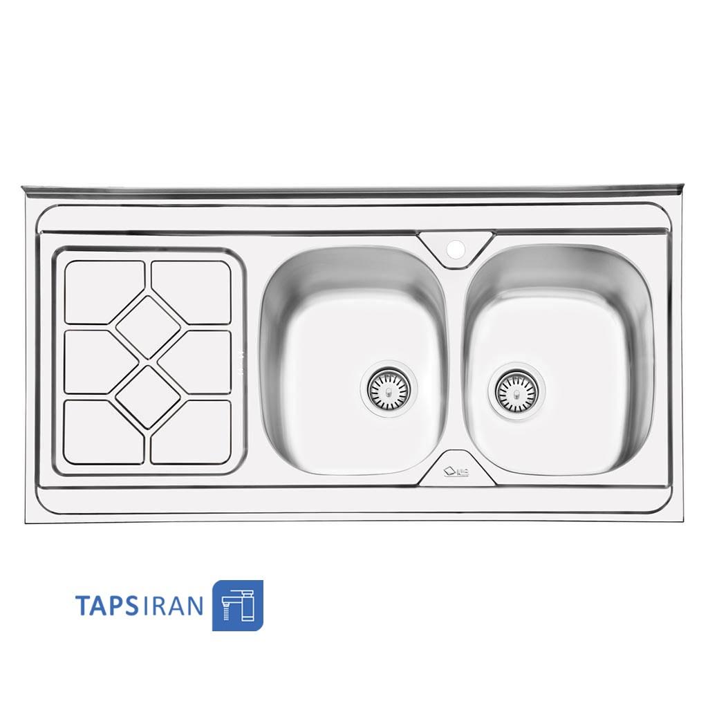 سینک ظرفشویی ایلیا استیل مدل 1031