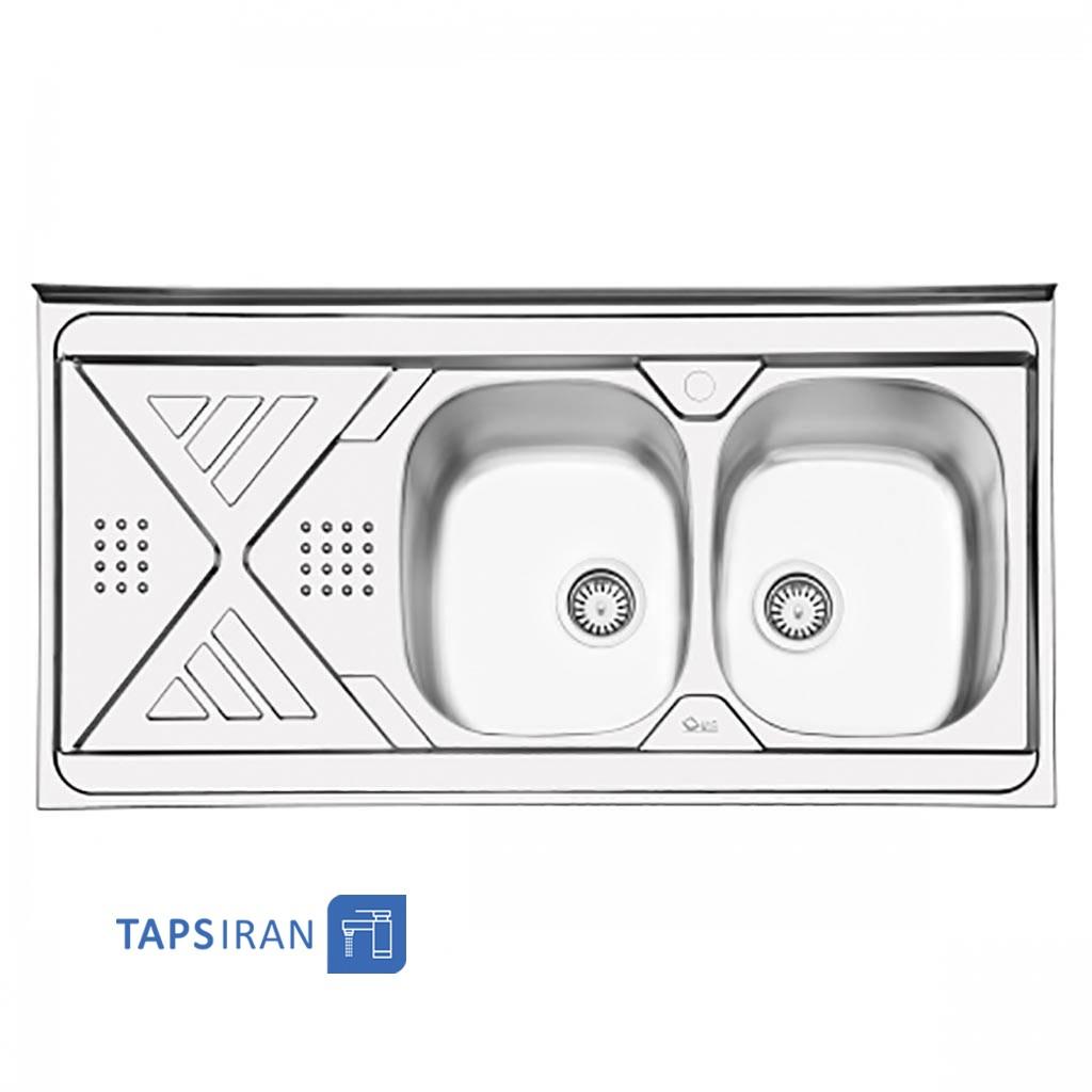 سینک ظرفشویی ایلیا استیل مدل 1040