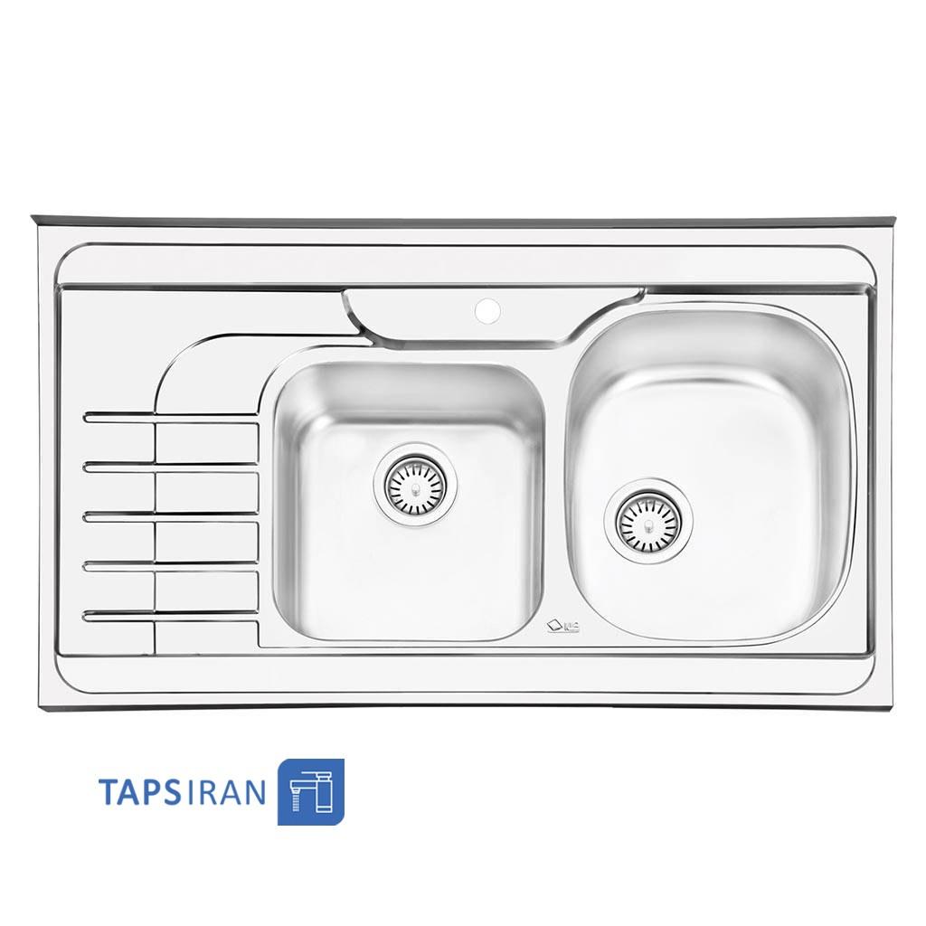 سینک ظرفشویی ایلیا استیل مدل 1057