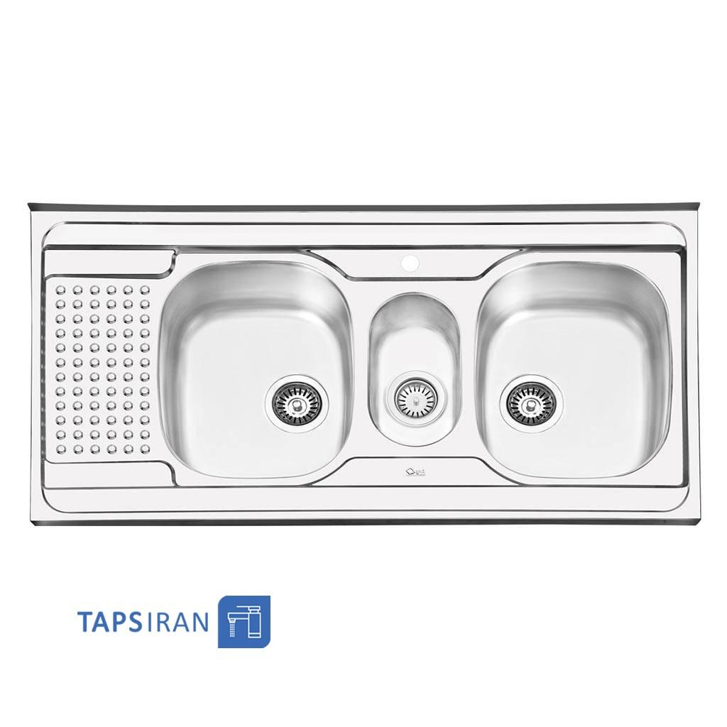 سینک ظرفشویی ایلیا استیل مدل 1026
