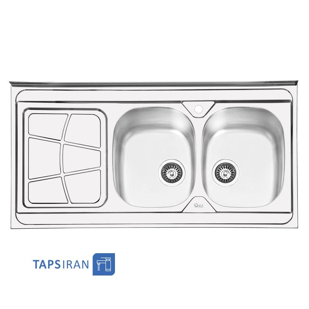 سینک ظرفشویی ایلیا استیل مدل 1030