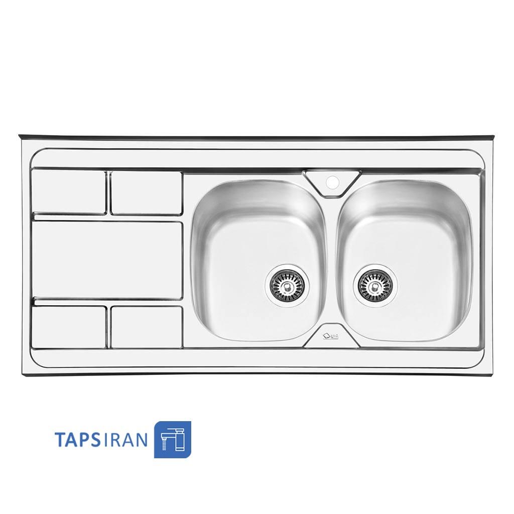 سینک ظرفشویی ایلیا استیل مدل 1042