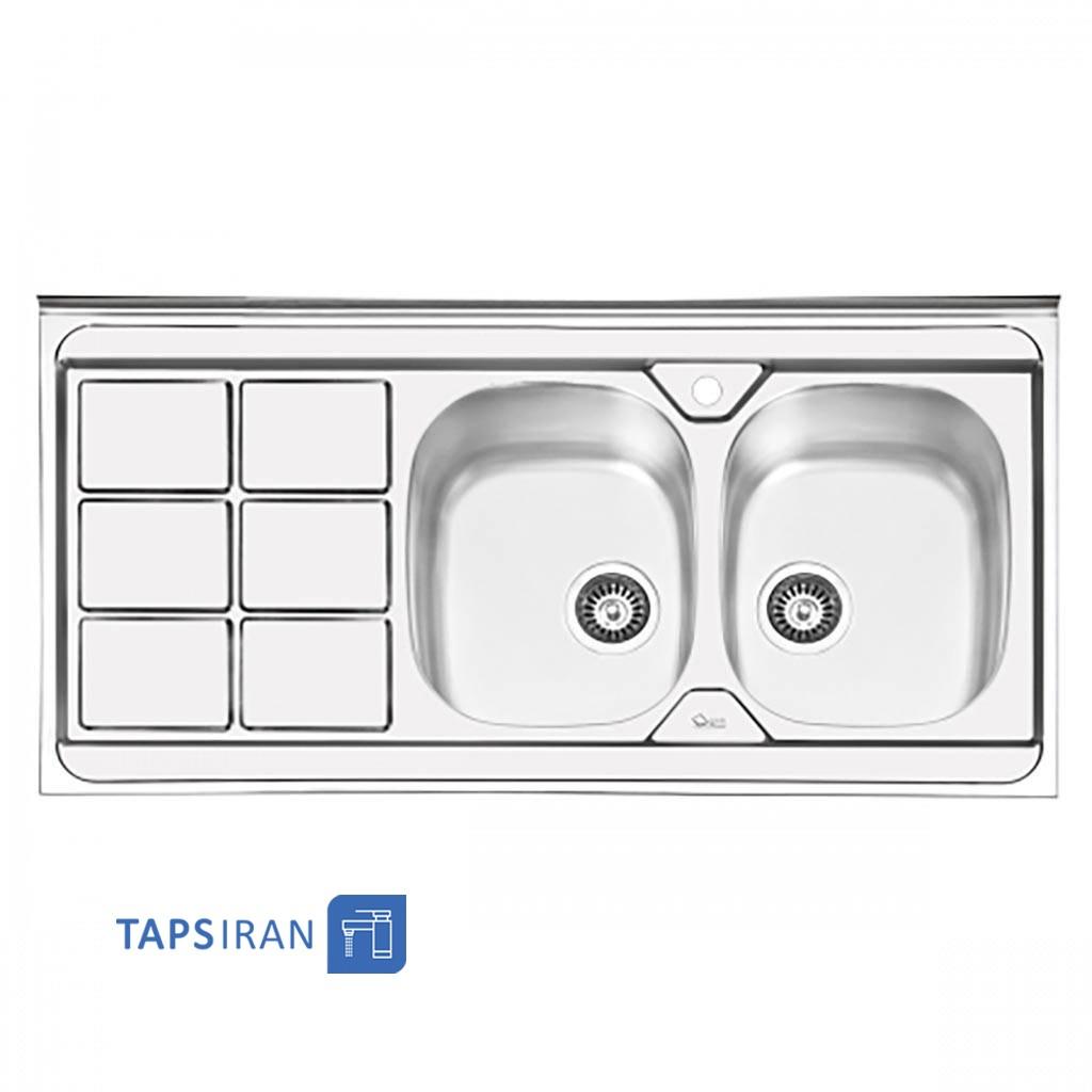 سینک ظرفشویی ایلیا استیل مدل 1043