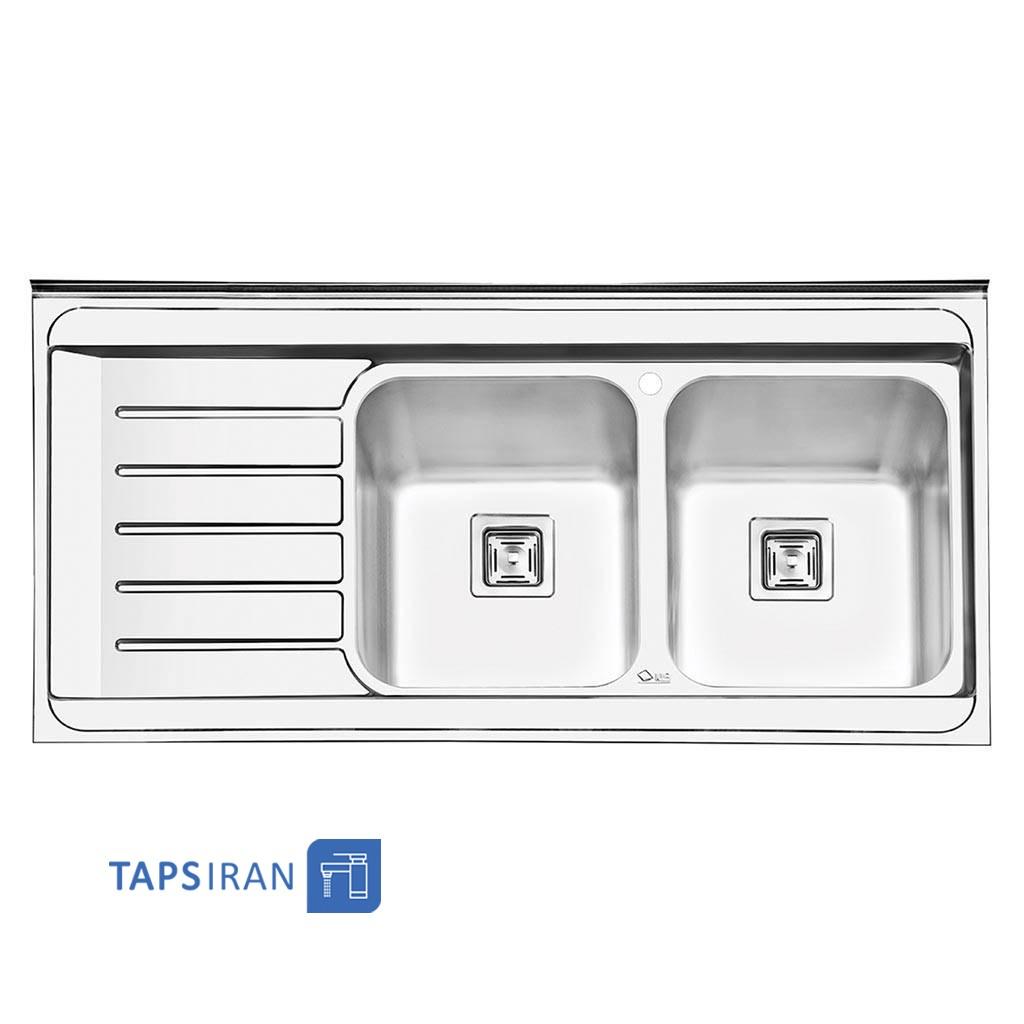 سینک ظرفشویی ایلیا استیل مدل 1060