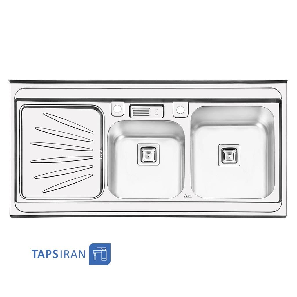 سینک ظرفشویی ایلیا استیل مدل 1061