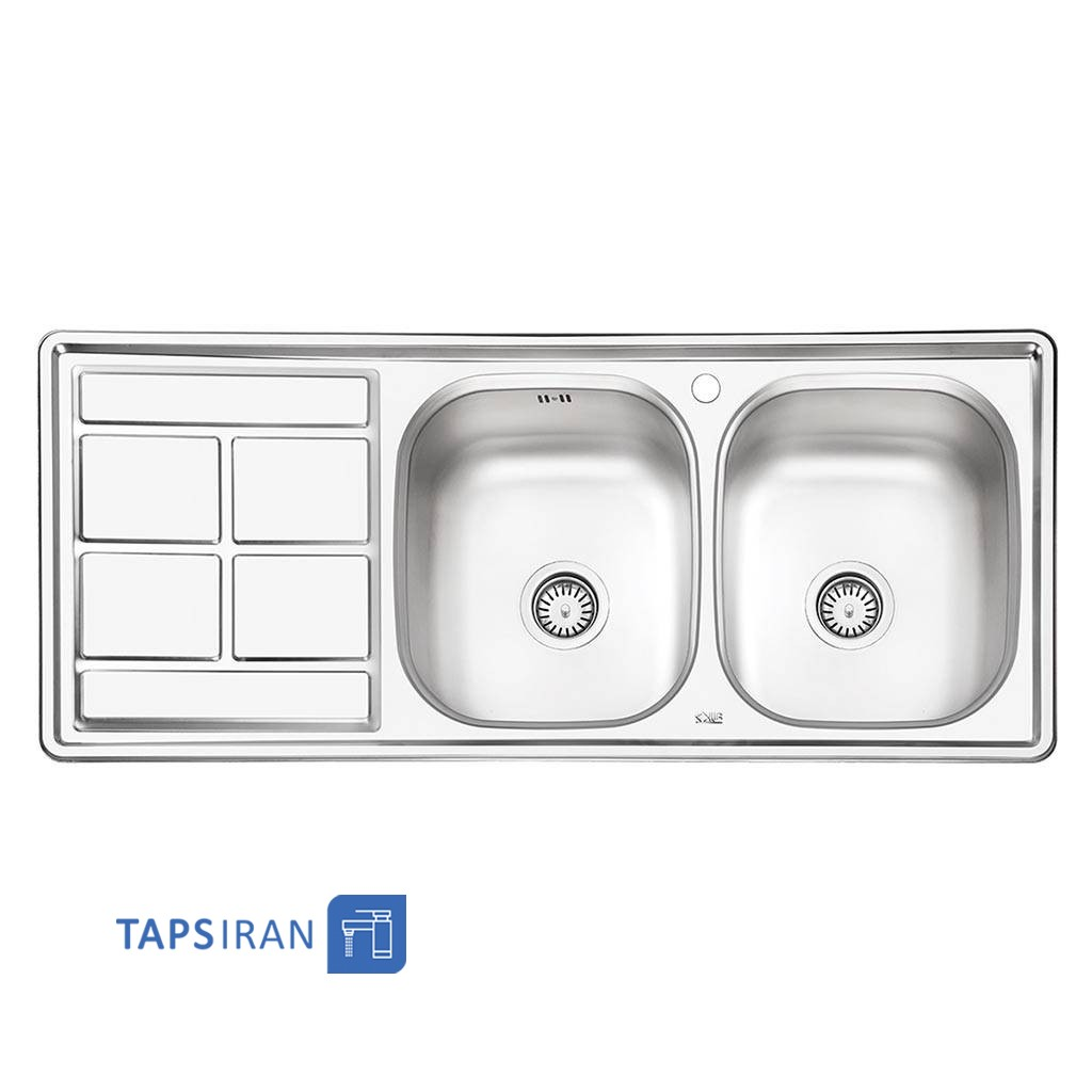 سینک ظرفشویی ایلیا استیل مدل 4035