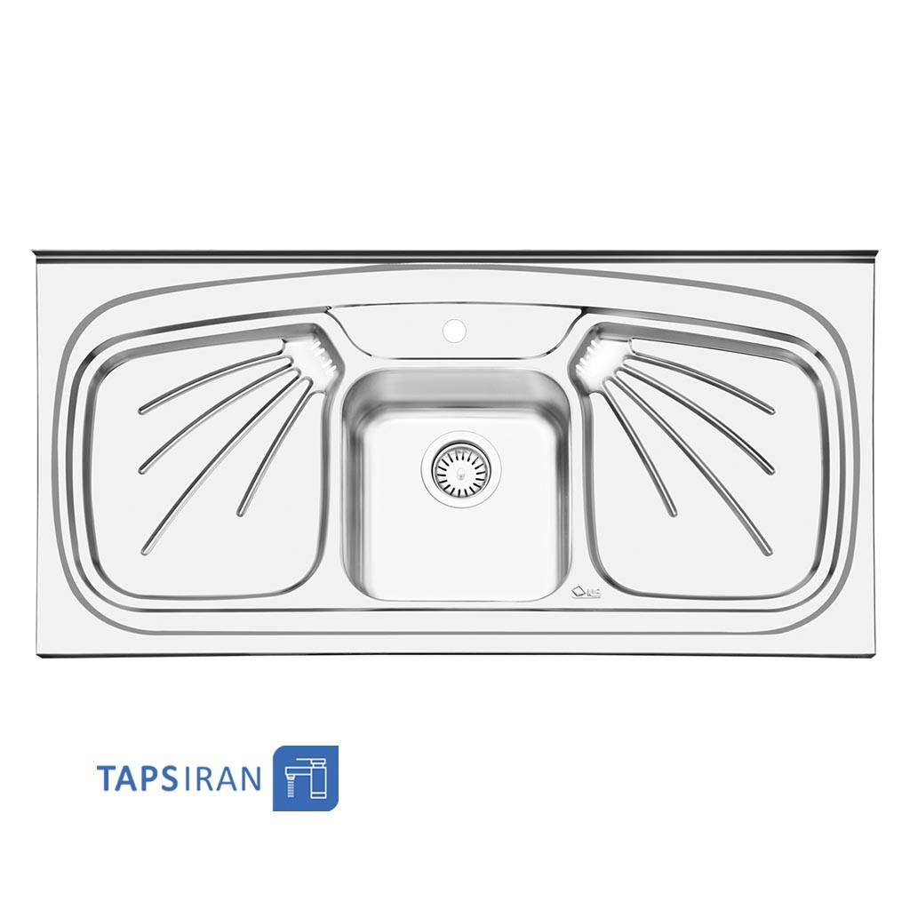 سینک ظرفشویی ایلیا استیل مدل 1011