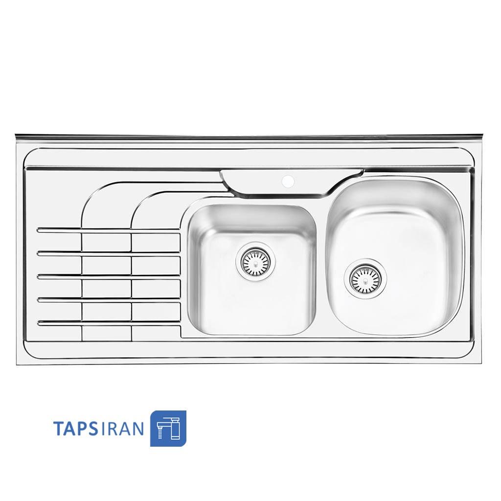سینک ظرفشویی ایلیا استیل مدل 1047